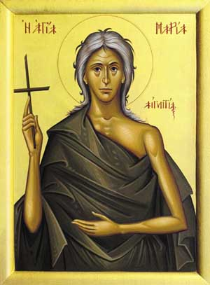Saint Mary of Egypt by Anne Champion